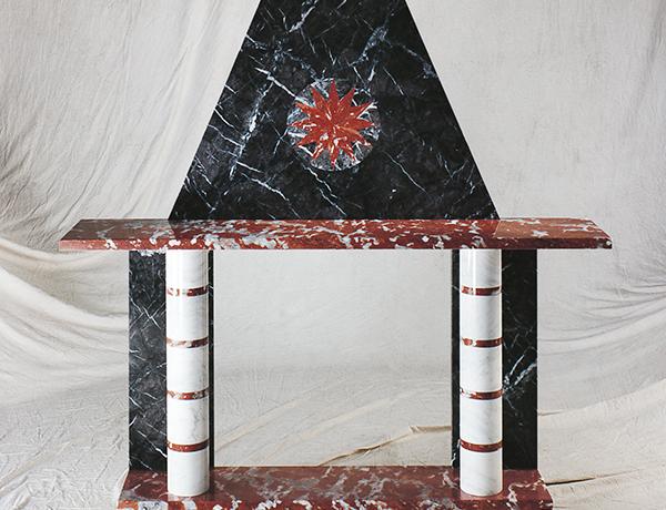 Camini in marmo Camino Cosimo - Sergio Asti art. 700